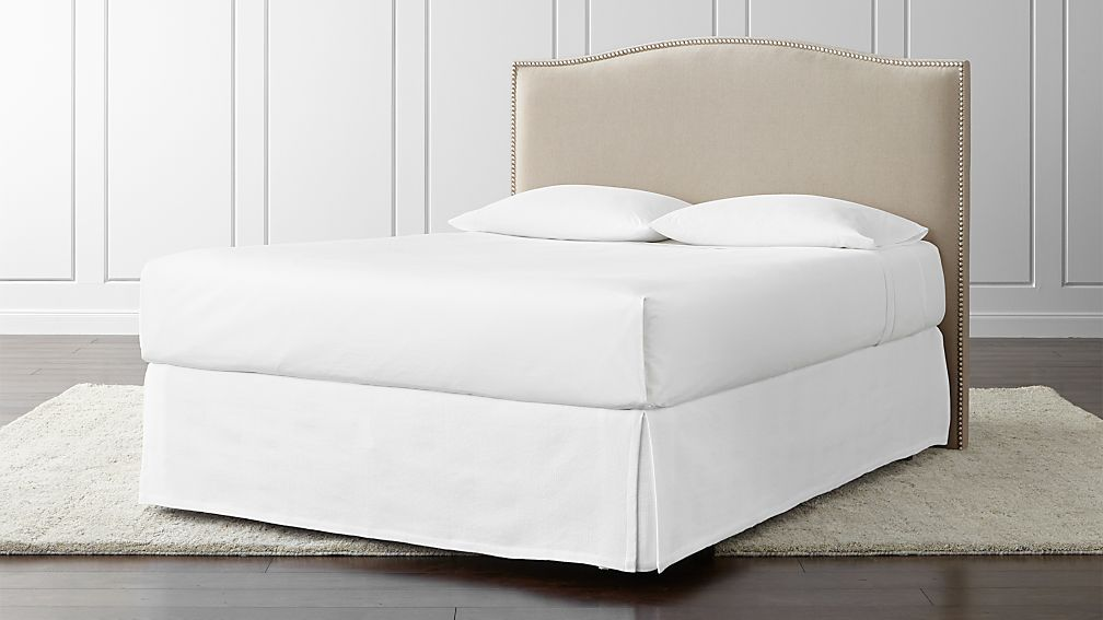 Colette Upholstered Queen Headboard Crate And Barrel