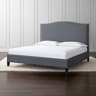 Colette Tall Upholstered King Bed