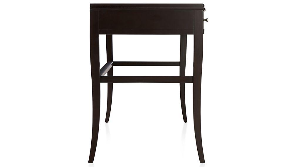 Colette Espresso Vanity Table-Desk