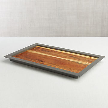 Excellent Decorative Trays And Serving Platters Crate And Barrel Squirreltailoven Fun Painted Chair Ideas Images Squirreltailovenorg