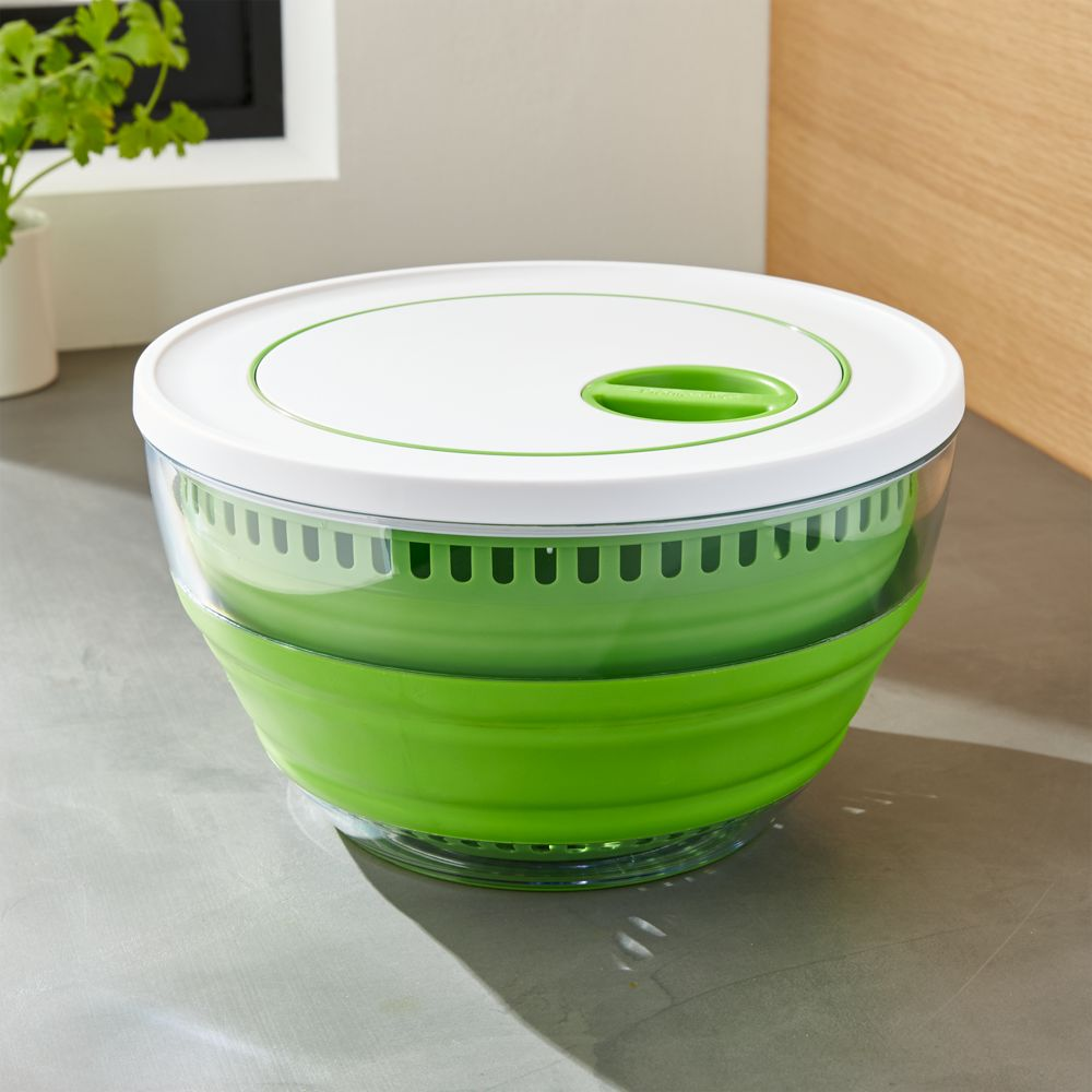 Collapsible Salad Spinner - Crate and Barrel
