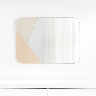 Color Block Mirror
