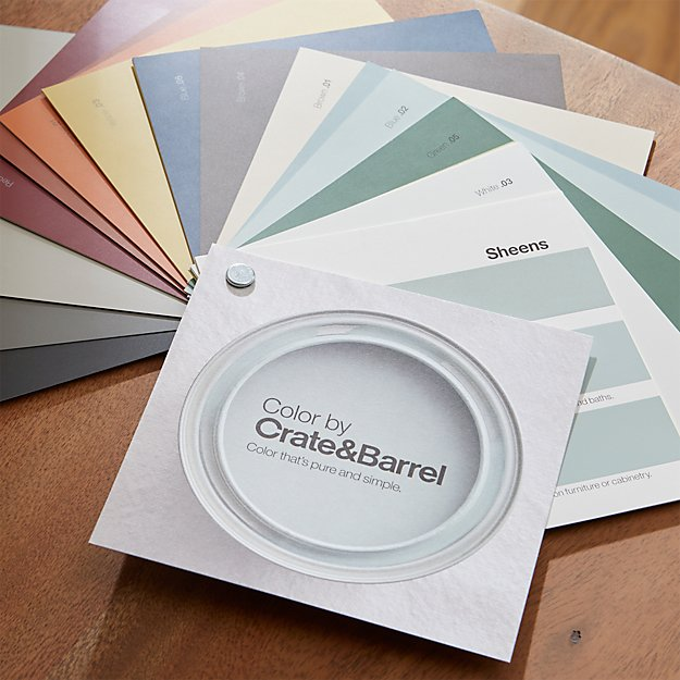 Color by Crate and Barrel Fan Deck