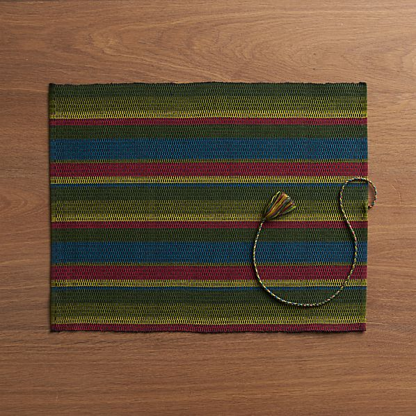 Colorido Green Placemat