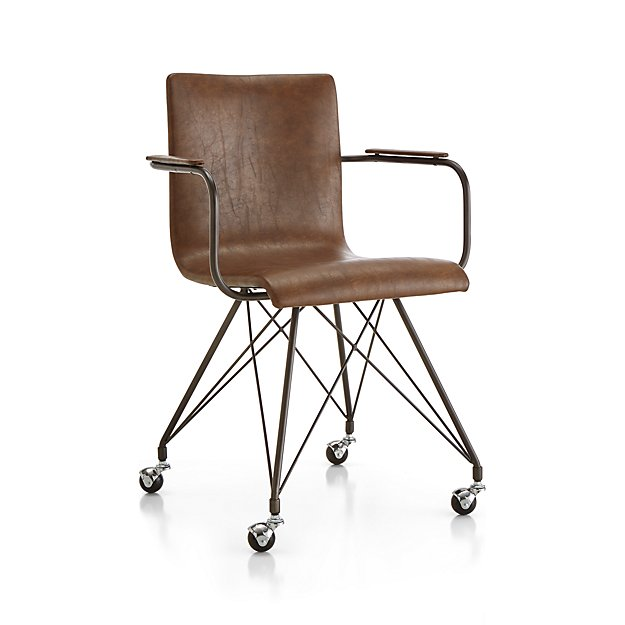 Colt Vegan Leather Office Chair - Image 1 of 10