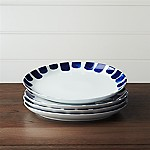 Set of 4 Como Tile Dinner Plates
