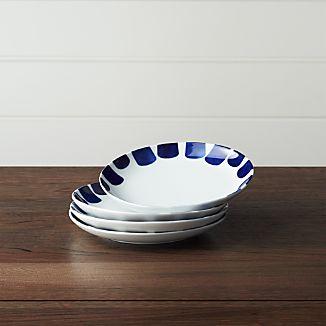 Set of 4 Como Tile Salad Plates