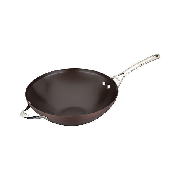 Calphalon ® Contemporary ® Nonstick Bronze Wok