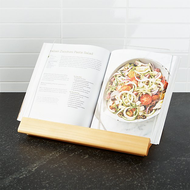 Cookbook Stand Reviews Crate And Barrel