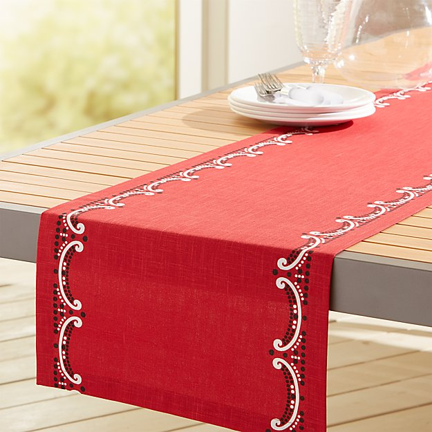 Cookout Table Runner - Image 1 of 1
