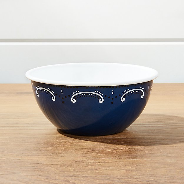 Cookout Enamel Small Bowl - Image 1 of 3