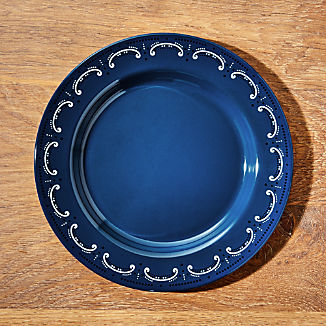 Cookout Enamel Dinner Plate