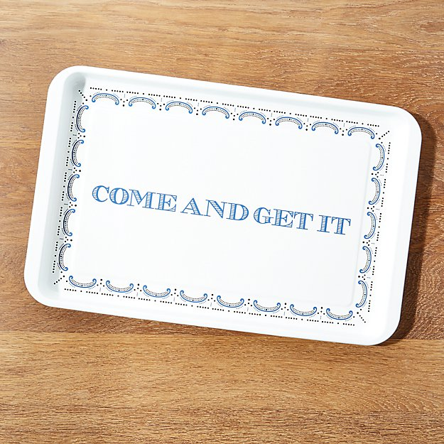 Cookout Enamel Serving Tray - Image 1 of 4