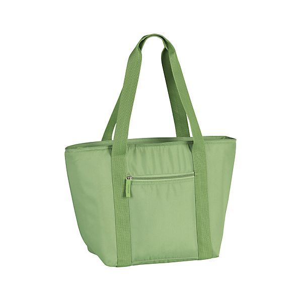Insulated Green Cooler Tote