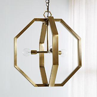 Cooper Antique Brass Chandelier