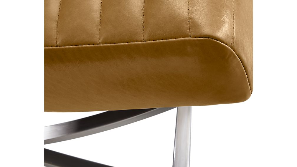 Cooper Armless Leather Chair