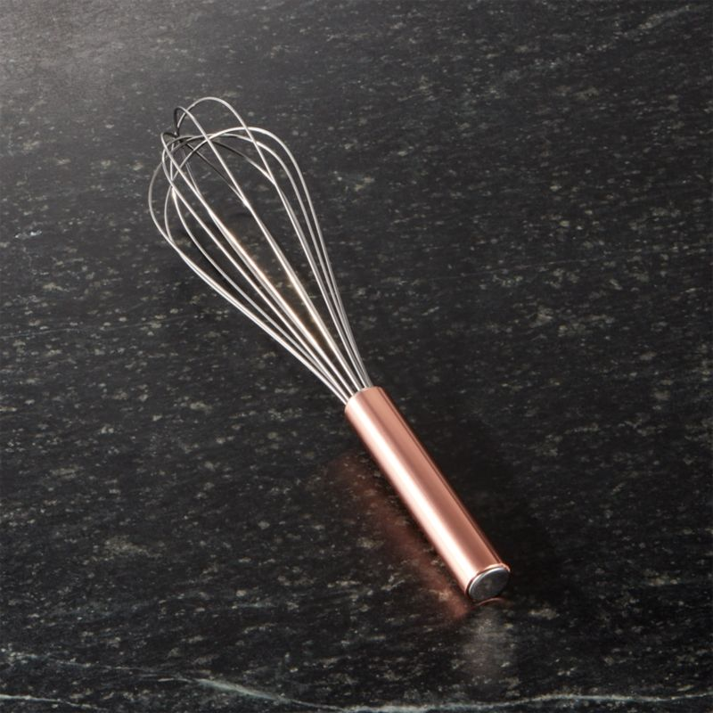 whisk with copper handle reviews crate and barrel