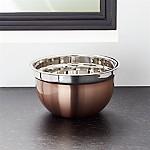 Copper Mixing Bowl 3qt
