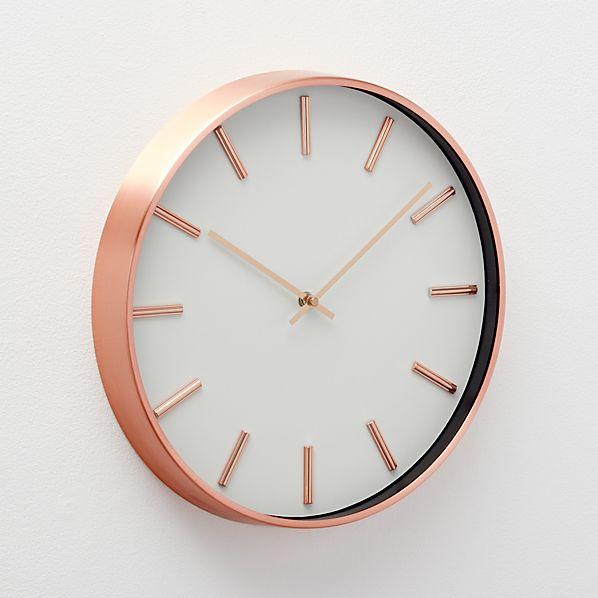 CopperWallClockAVF16
