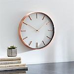 Copper 14  Wall Clock