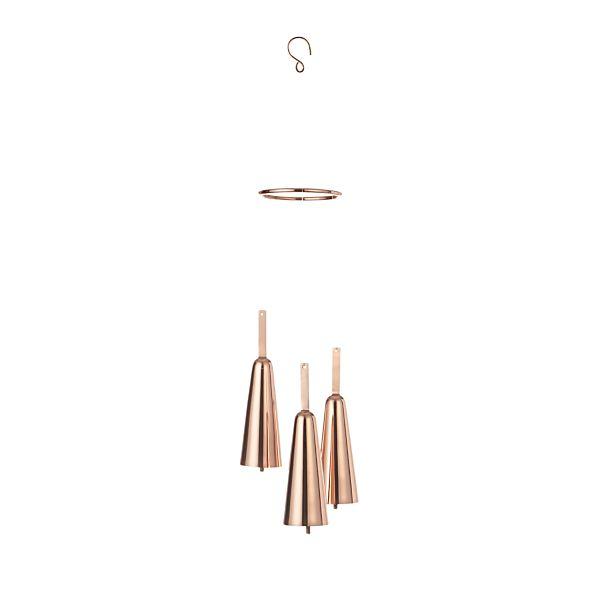 Copper Wind Chimes