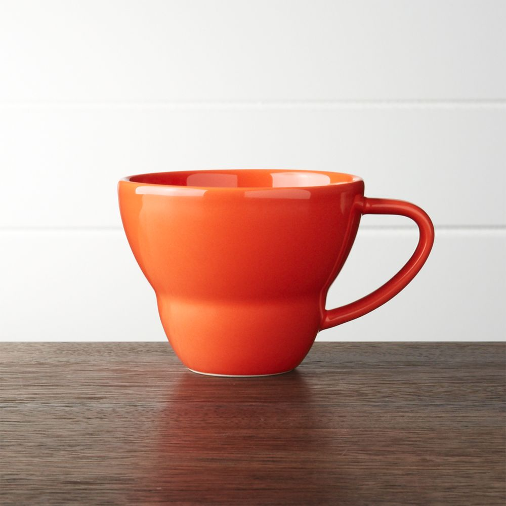 Coral Mug - Crate and Barrel