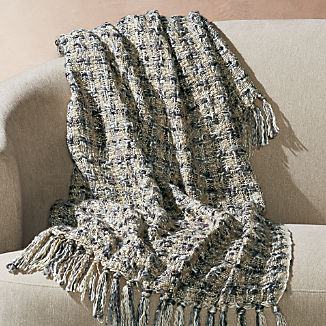 Blankets & Throws | Crate and Barrel  free shipping
