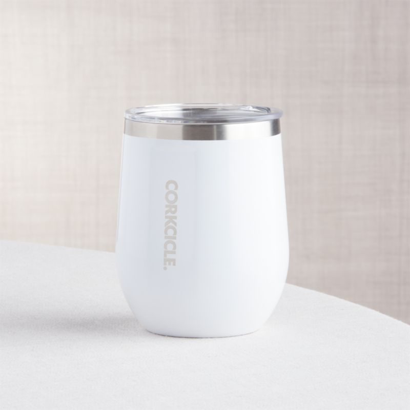 Corkcicle Stemless White Wine Glass Reviews Crate And