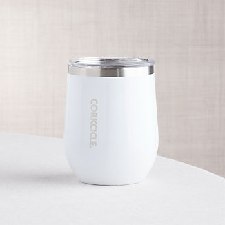 Corkcicle Stemless White Wine Glass