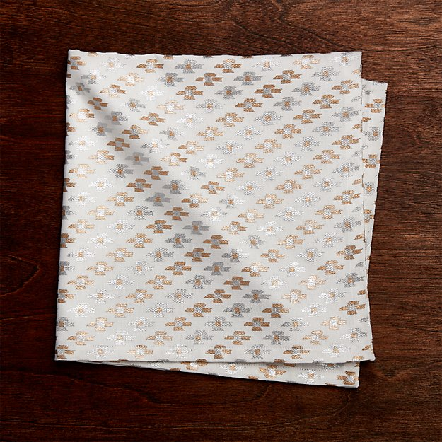 Cortez Metallic Cloth Dinner Napkin