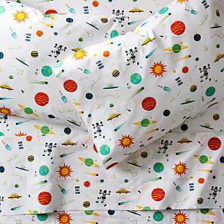 Organic Cosmos Sheet Set