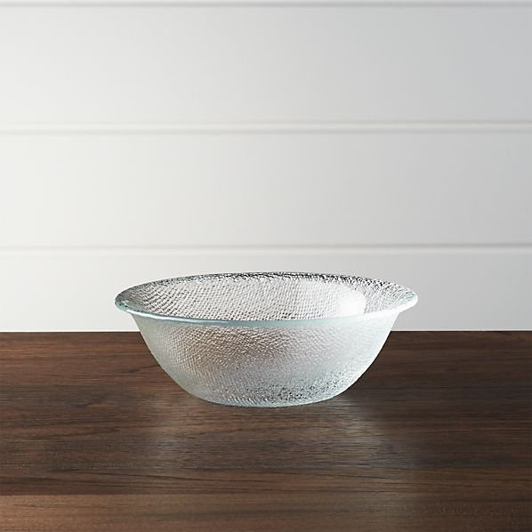 Cotton Clear Bowl