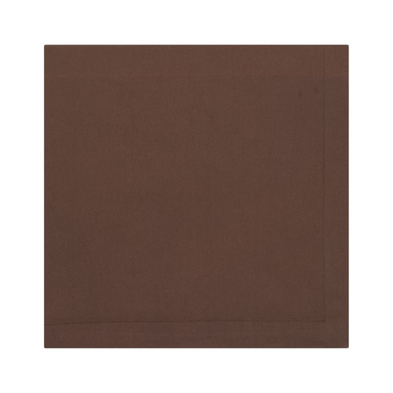 """Lustrous cotton sateen napkin coordinates with any and every table setting. Napkin is tailor finished with 1"""" hem and mitered corners.<br /><br /><NEWTAG/><ul><li>100% cotton</li><li>Machine wash; tumble dry, warm iron as needed</li></ul>"""