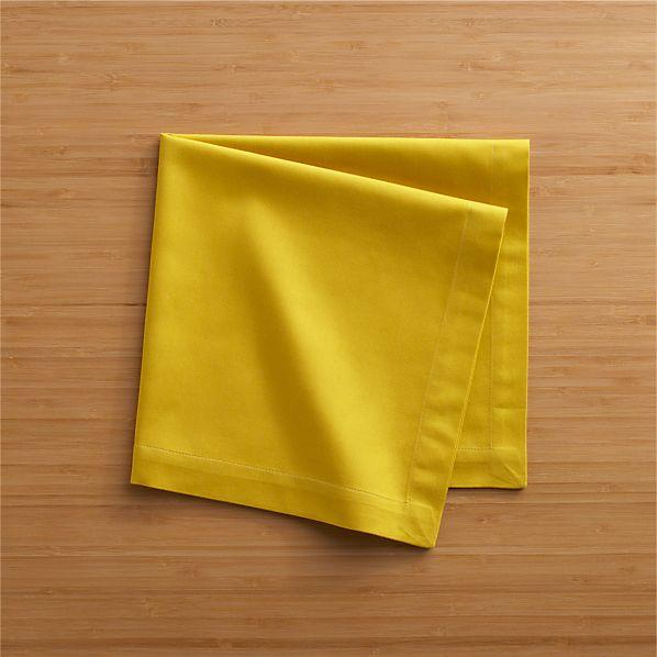 Cotton Yellow Napkin
