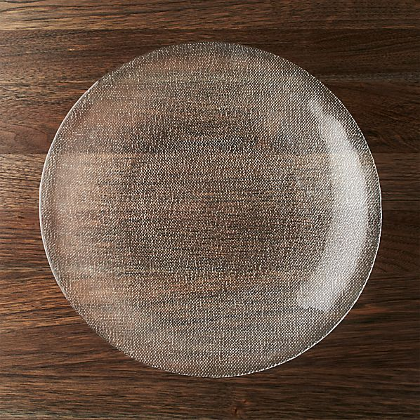 Cotton Clear Platter