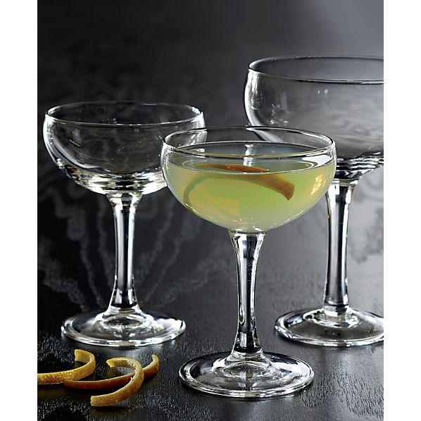 CoupeCocktailGlassesJL17