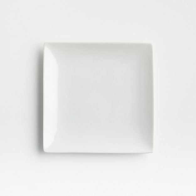 """Court 6"""" Appetizer Plate - Image 1 of 7"""