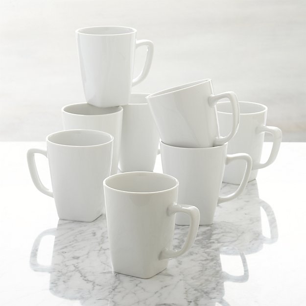 Set of 8 Court Mugs
