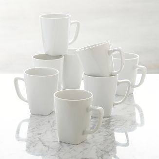 Set of 8 Court Mugs