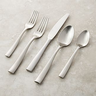 Couture Satin 20-Piece Flatware Set