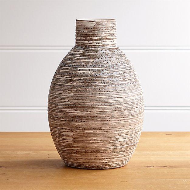 Cove Tall Circular Vase