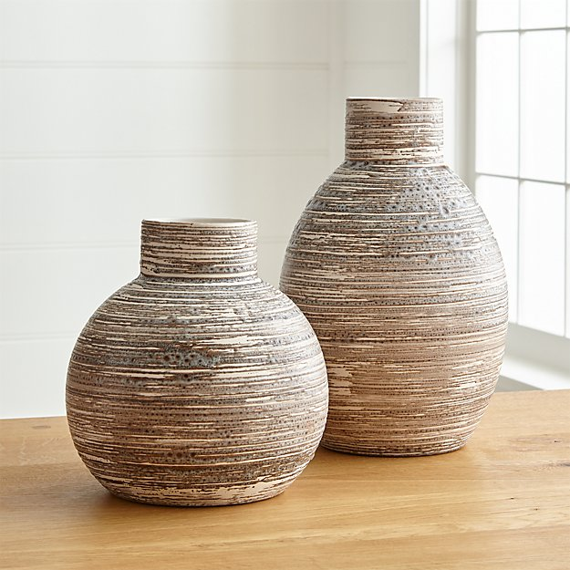 Cove Vases Crate And Barrel