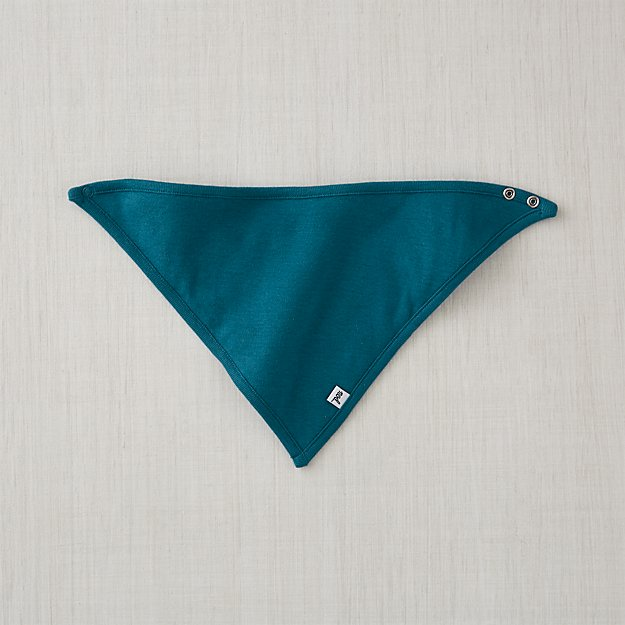 95cbd4298 Cozy Cotton Organic Navy Blue Bandana Bib + Reviews