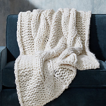 Phenomenal Blankets Throws Crate And Barrel Bralicious Painted Fabric Chair Ideas Braliciousco