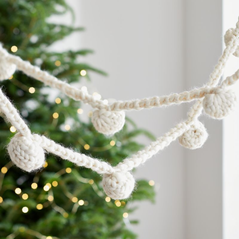 Cozy Weave Garland by Crate&Barrel