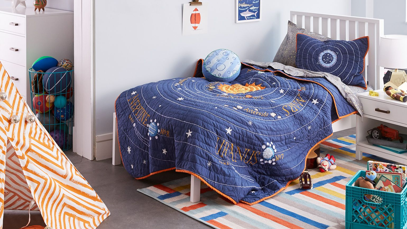 Kids Bedroom Bedding Kids Bedding And Bathroom Decor Crate And Barrel