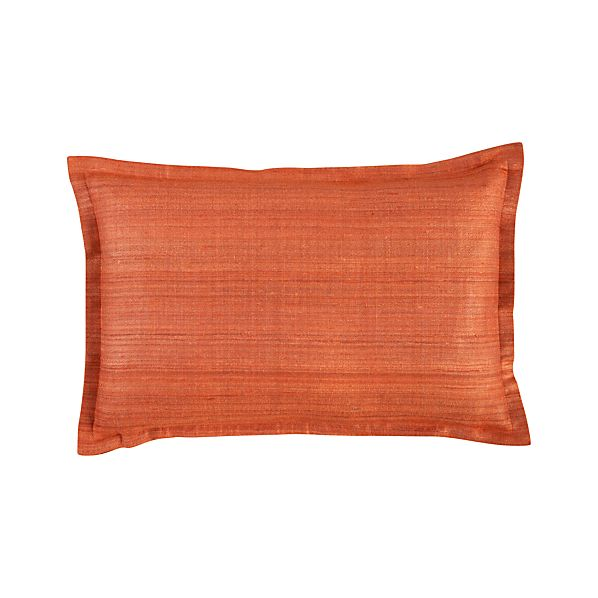 "Crawford Orange 18""x12"" Pillow"