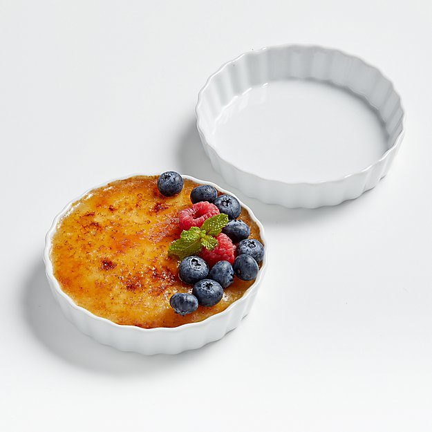 Crème Brûlée Dishes, Set of 2 - Image 1 of 2