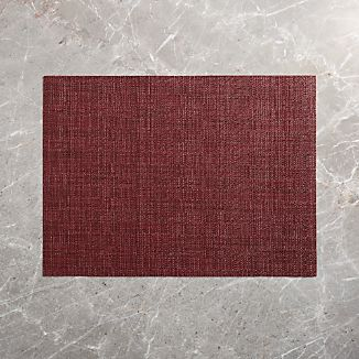 chilewich crepe wine vinyl placemat