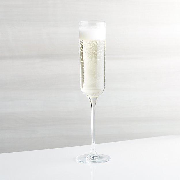 Crescent Champagne Glass